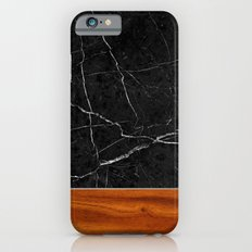 Marble and Wood iPhone 6s Slim Case