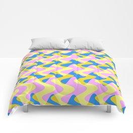 Crosswave Pink - Electron Series 003 Comforters