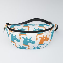 Bow Tie Optional Unicorn Fanny Pack