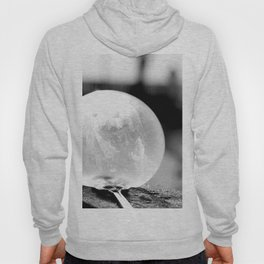 Black and White Frozen Bubble Hoody