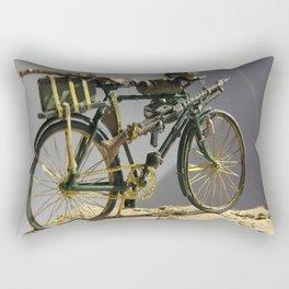 Old bicycle Zvonekmakete Rectangular Pillow