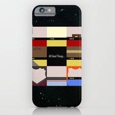 All Good Things - square Minimalist Star Trek TNG The Next Generation 1701 D  startrek  Trektangles iPhone 6 Slim Case