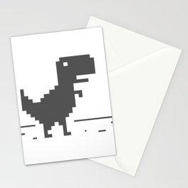 Google Dinosaur Stationery Cards