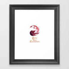 Burn your Enemies Framed Art Print
