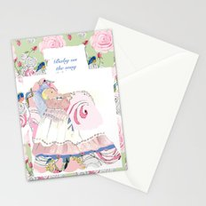Baby Sarah sweet dreams Stationery Cards