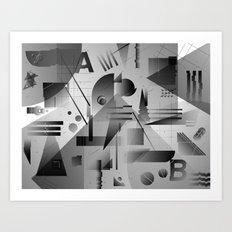 Gradients Art Print