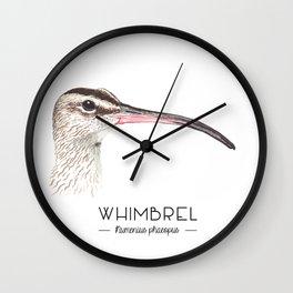 Whimbrel Wall Clock