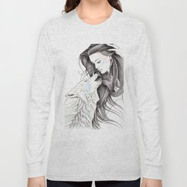 Witch Wolf Long Sleeve T-shirt