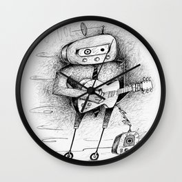 The Music Man Wall Clock