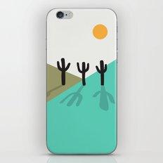 Cactus in the desert iPhone & iPod Skin