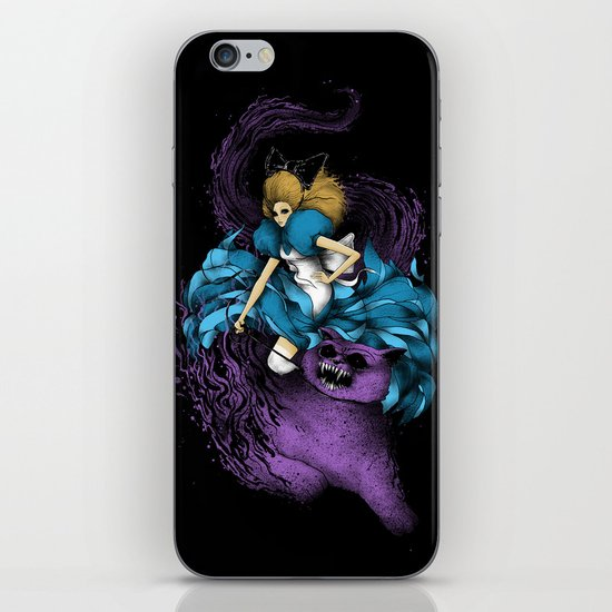 Alice & The Wildcat iPhone & iPod Skin