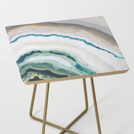 Green Agate #1 Side Table