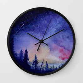 The Blue Hour Wall Clock