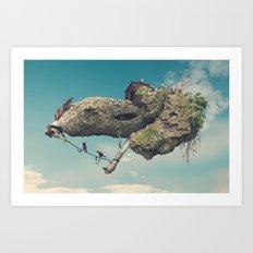 Zooo Art Print