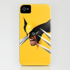 BLACK AND YELLOW Slim Case iPhone (4, 4s)