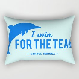 FOR THE TEAM - Nanase Haruka Rectangular Pillow