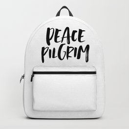 Peace Pilgrim Backpack