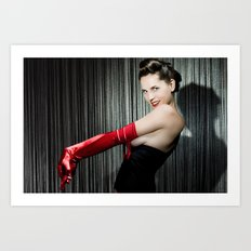 Pin-up Art Print