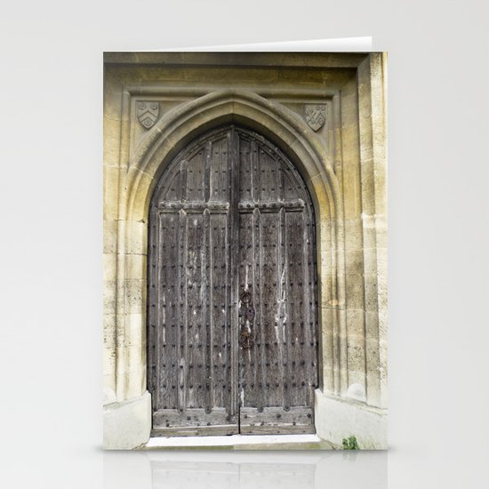 The Church Door Stationery Cards