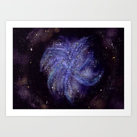 Pinwheel Galaxy Art Print