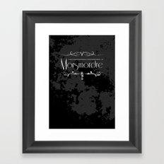 Harry Potter Curses: Morsmordre Framed Art Print