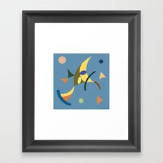 Comp A1 Framed Art Print