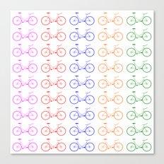 Bike 2, Vector, Design Canvas Print