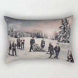 Christmas / OUAT Group Rectangular Pillow