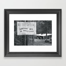 Prosecuted  Framed Art Print