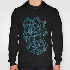 Abstraction Lines Watercolour Hoody