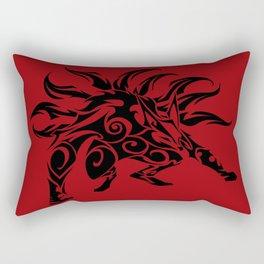 Kurama Tribal Rectangular Pillow