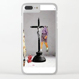 Say Hello To Heaven Clear iPhone Case