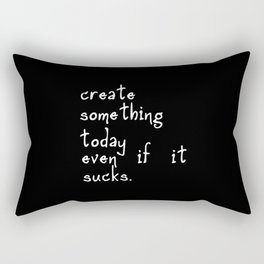 Create Something Rectangular Pillow