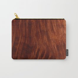 Beautiful Unique mahogany red wood veneer design Carry-All Pouch