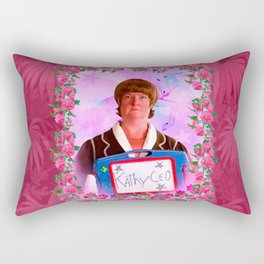 Kathy = CEO of 30 Rock Rectangular Pillow