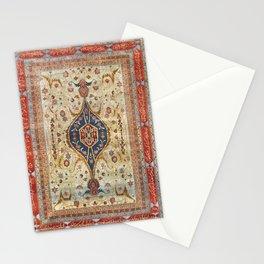 Heriz Silk Northwest Persian Carpet Print Stationery Cards