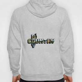 Country Boy Big Letter Hoody