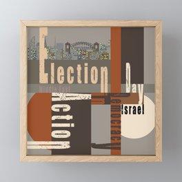 Election Day 7 Framed Mini Art Print