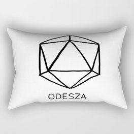 ODESZA LOGO BLACK Rectangular Pillow