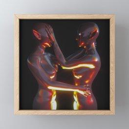Modern Romance Framed Mini Art Print