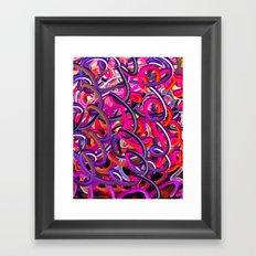 a new kind of doodle Framed Art Print