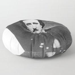Edgar Allan Poe Floor Pillow