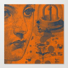 Looking Down the Wishing Well Canvas Print