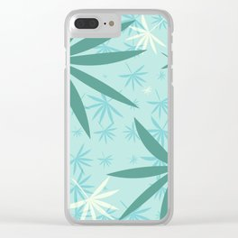 Leaves 2b Clear iPhone Case