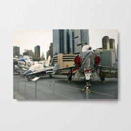 Euro-Plane Metal Print