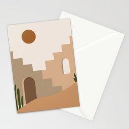 Abstract art boho wall art prints Stationery Cards