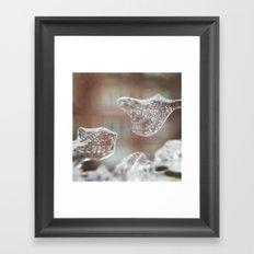 Ice Sculpture Framed Art Print