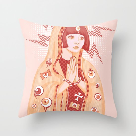 St. Kyary Throw Pillow