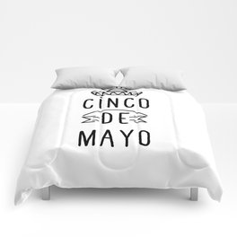 Happy Cinco De Mayo Comforters