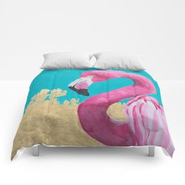 Flora the Flamingo Comforters